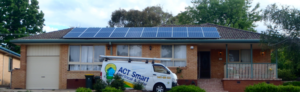 Image of the ACT Smart Electrical and Solar Van