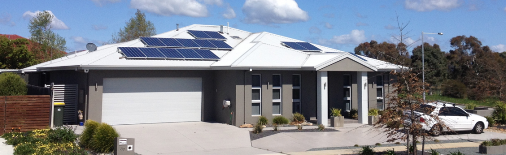Image of a Solar Power installation by ACT Smart Electrical and Solar